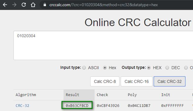 crc calculator online binary options